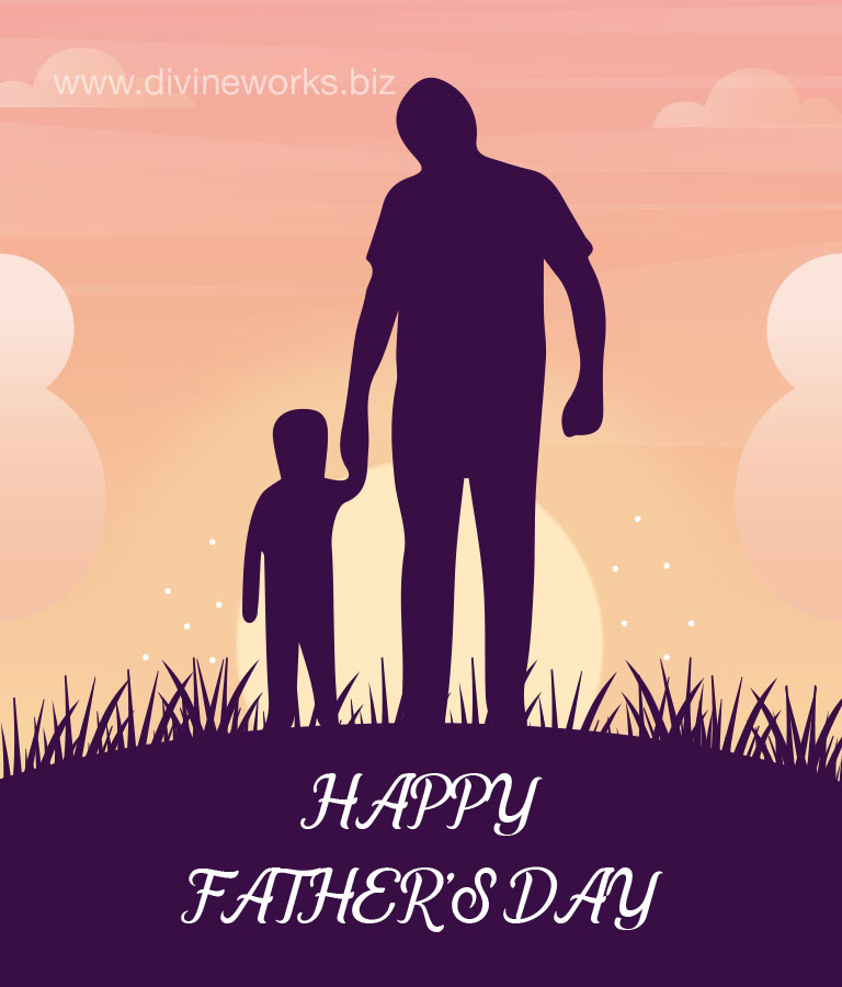 Father's Day Vector Theme