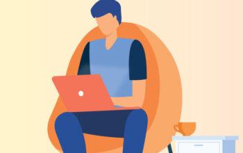Download Free Freelancer Vector Illustration by Divine Works