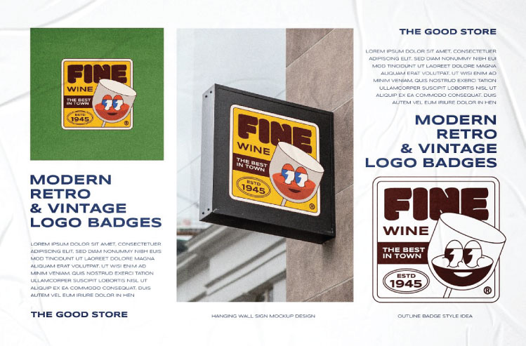 Illustration Logo Badges Bundle #2