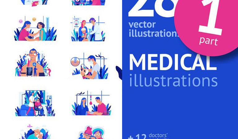 Part 1 Medical illustration, Color 2