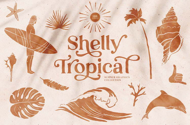 70's Summer Graphics Collection