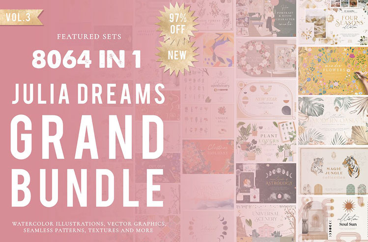 8064 in 1 - GRAPHICS GRAND BUNDLE