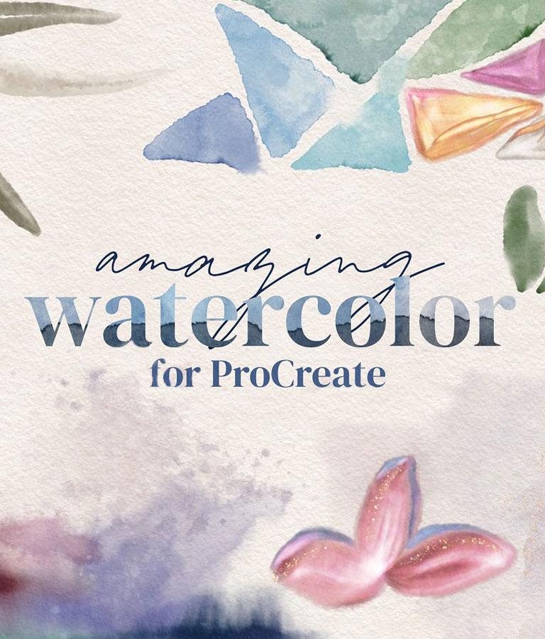 Watercolor for ProCreate