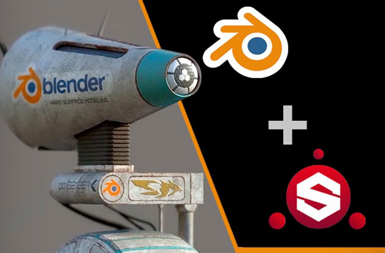 CREATE STAR WAR ROBOT WITH BLENDER AND SUBSTANCE PAINTER