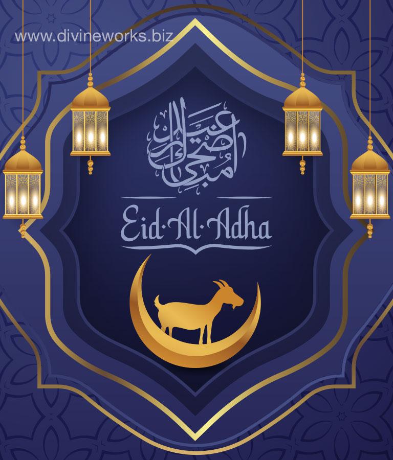 Eid-Ul-Adha Illustration