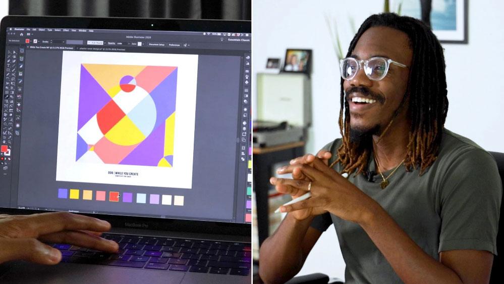 Graphic Design Create a Bold, Colorful Album Cover