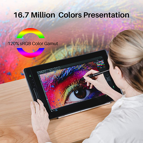 HUION KAMVAS Pro 16 Graphics Drawing Tablet