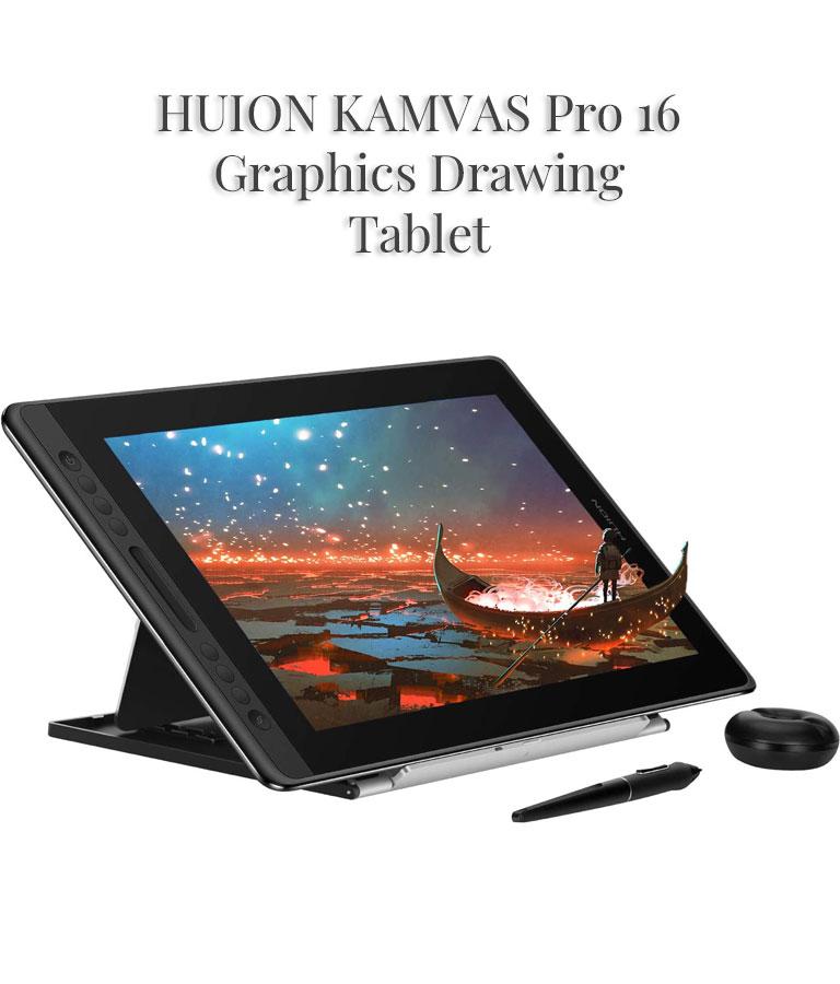 HUION KAMVAS Pro 16 Graphics Tablet