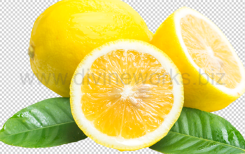Lemons With Leafs Png