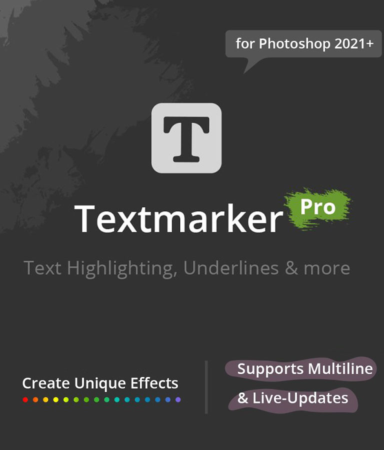 Text marker Pro for PS 2021