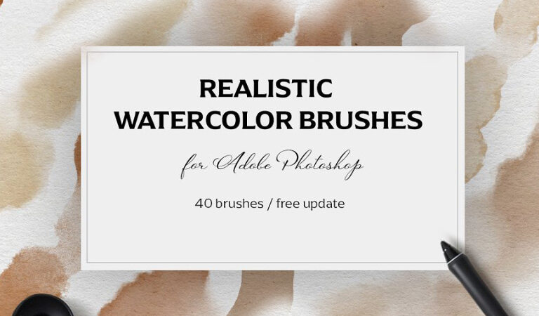 Photoshop Realistic Watercolor Brushes